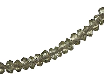 Faceted Peridot and Sterling Silver Bracelet  - MICRONESIA