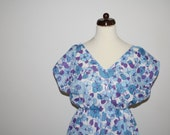 Sale Swinging 60s flower print dress