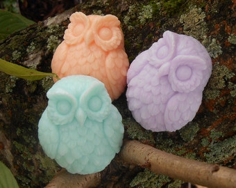 Owl Soap - Party, Shower, Wedding Favor