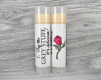 Grey Stuff Lip Balm - White Chocolate Lip Balm - Beauty and the Beast - Be Our Guest