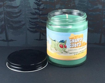 Chupacabra Candle - Goat Sucker - Cryptid Candle