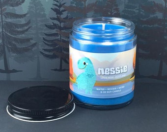 Nessie Candle - Loch Ness - Cryptid Candle