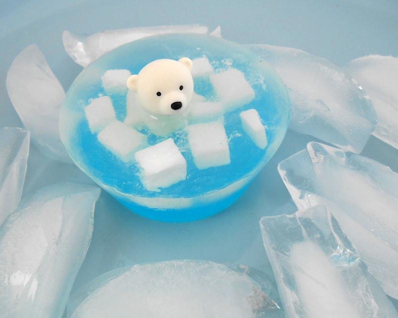 c412aa01cd0 Polar Bear On Ice Soap
