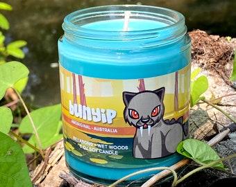 Bunyip Candle - Australian Mythology - Cryptid Candle