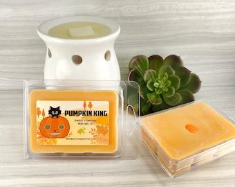 Pumpkin King Wax Melts - Pumpkin Wickless Wax