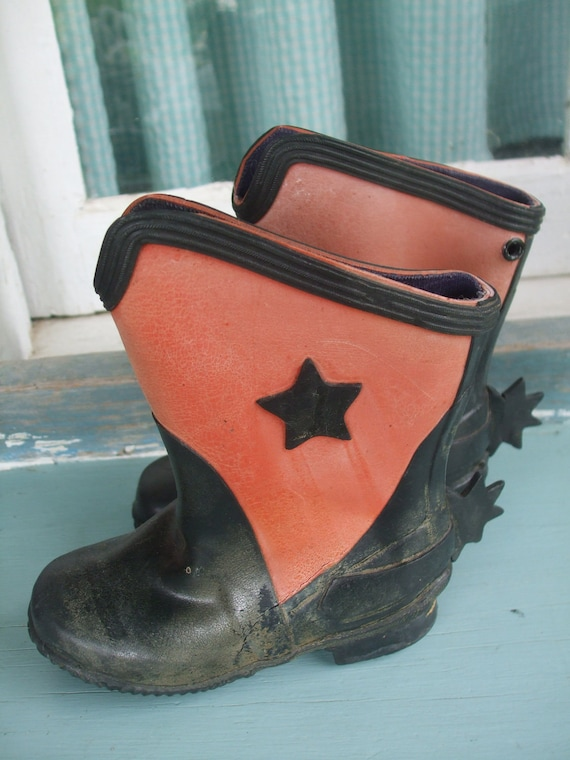 Boots Leather Child's Leather Cowboy Boots 1930s … - image 5