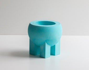 Belly Pot in Turquoise