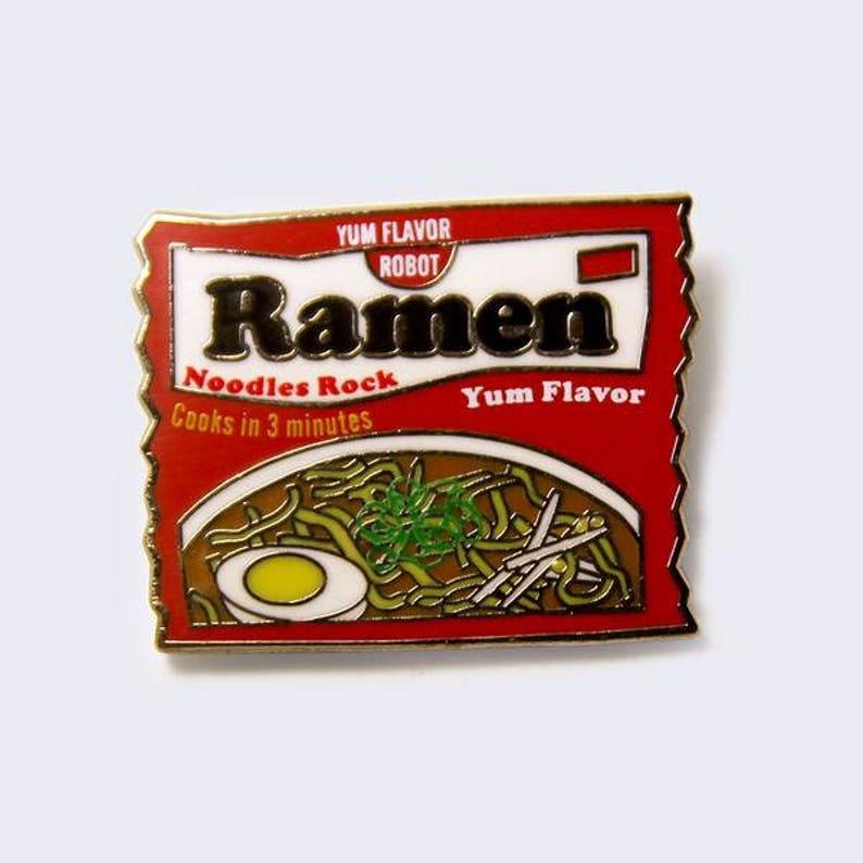 Ramen Package Enamel Pin image 0