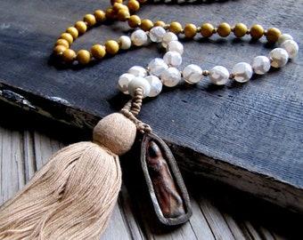 108 Bead Mala Beads Mala Necklace Yoga Jewelry Buddha Necklace Mala Prayer Beads Buddhist Beads Meditation Beads Buddha Jewelry Boho Jewelry