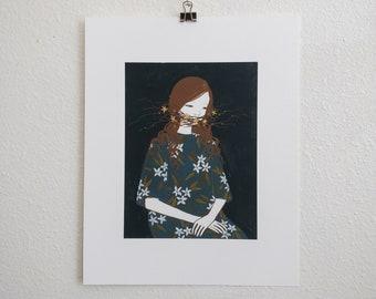 Silence (art print)