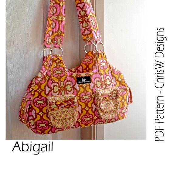 d38f9d77168 INSTANT DOWNLOAD Handbag sewing pattern PDF   Etsy