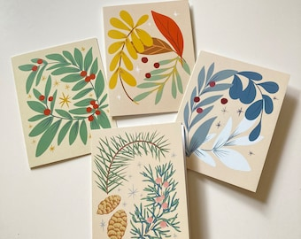 Holiday Cards - set of 4