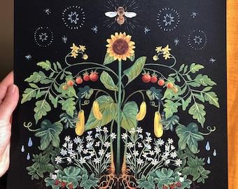 Pollination 12x12