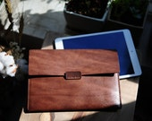 Artemis Leatherware Hand Stitched Leather Ipad Mini Case/ Clutch