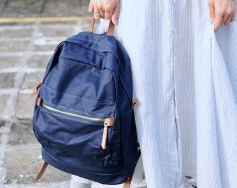 Artemis Leatherware Canvas Backpack (Large size)