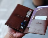Artemis Leatherware Hand Stitched Leather Passport Covers