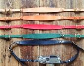 Artemis Leatherware Hand Stitched Leather Camera Strap (SALE)