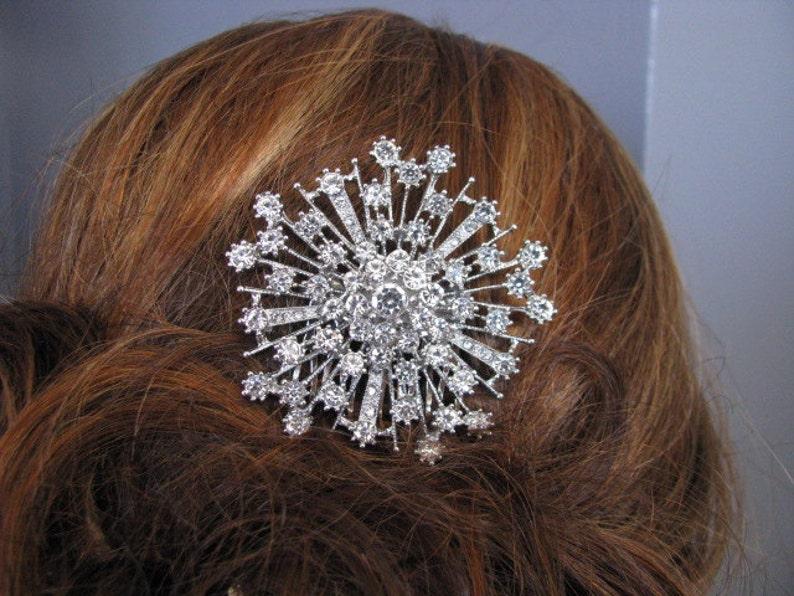 Crystal Rhinestone Hair Comb Bridal Jewelry Pageant Jewelry Bridal Hair Comb Wedding Hair Comb Jewelry Wedding