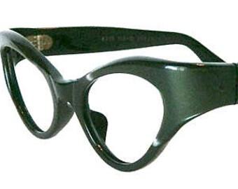 Vintage 1960s Cat Eye Eyeglass Frames Never Worn Size Small