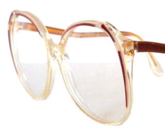 7f695638ad Vintage 1980 s French Eyeglass Frames Never Worn