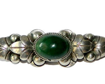 Vintage 1930's Mexican Sterling Silver Brooch