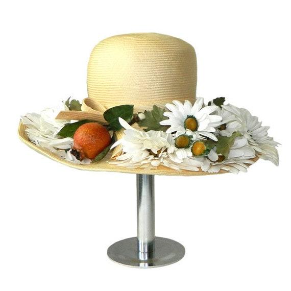 Vintage Adolfo Designer Sun Hat