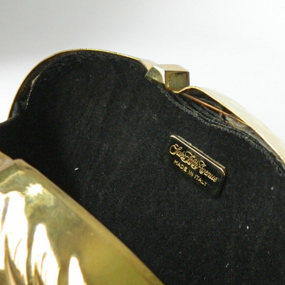 Vintage 1980s Clamshell Clutch Purse - image 3