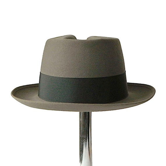 Vintage 1950s Pork Pie Hat Size 7 3/8 - image 2