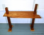 Reclaimed Wood Desk Table Handmade by Marc Deloach in Mississippi One of a Kind