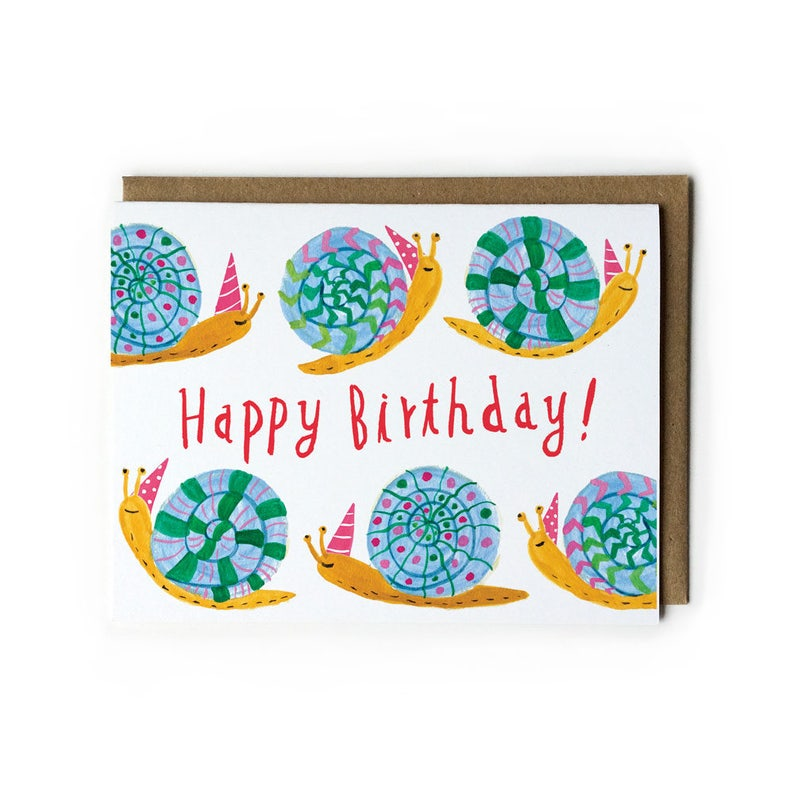 Cute Birthday Card Birthday Card for Kids Watercolor image 0