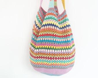Crochet Beach Bag - PDF Crochet Pattern