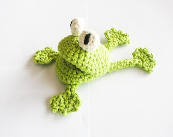 Crochet Frog Pattern - Instant Download