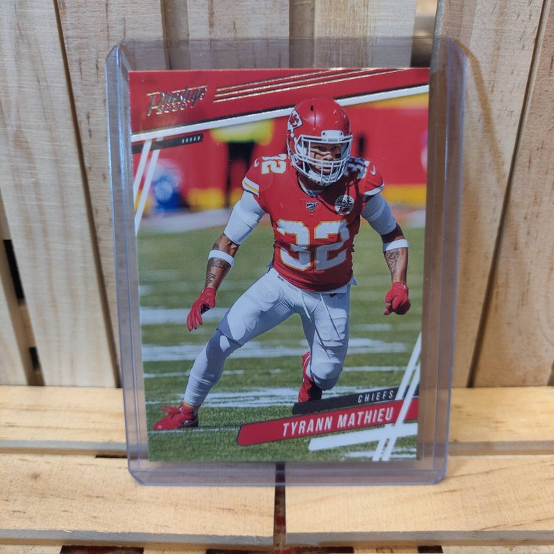 Tyrann Mathieu 2020 Panini Prestige Football Card Kansas City Chiefs Star Player