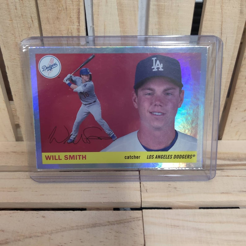 Will Smith 2020 Topps Archives  Foil Board Parallel SP set Baseball Card Los Angeles Dodgers Star Player