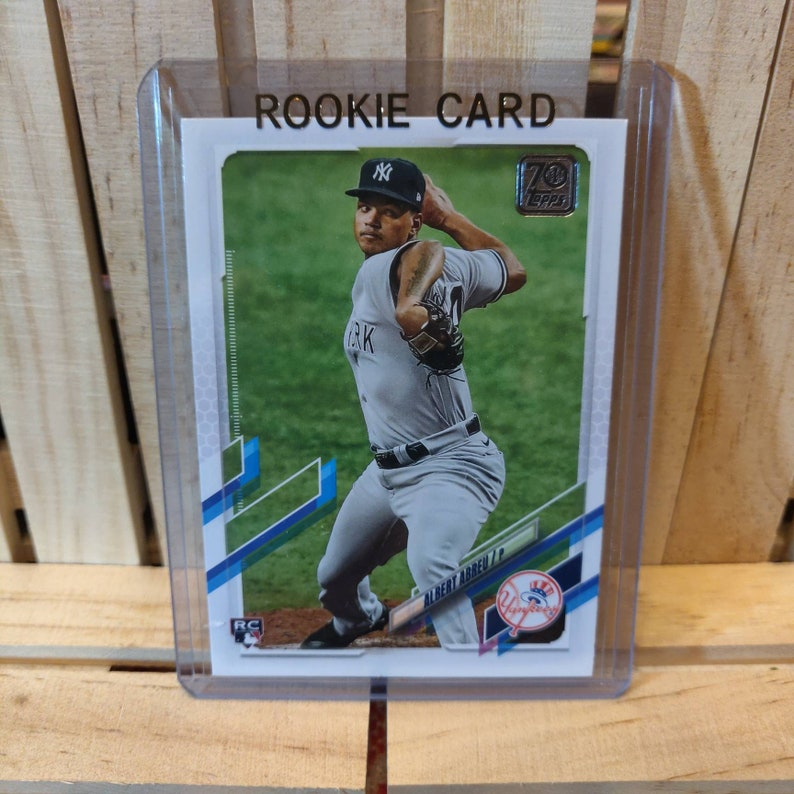 Albert Abreu RC 2021 Topps Series 1 Base set Baseball Card New York Yankees Star Player