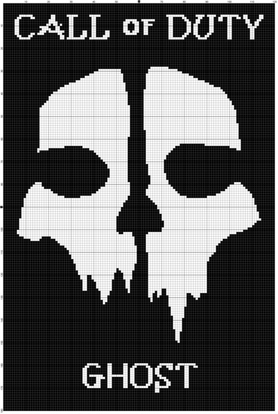 INSTANT DOWNLOAD Call of duty CUSTOM afghan crochet pattern | Etsy