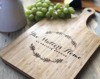 Christmas Family Reunion 024186 Bread Tray Engraved Monogrammed Thanksgiving Personalized Wood Cutting Chopping Board or Cheese