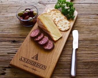 Personalized Cheese Board, Bread Board, Charcuterie Board Personalized Gift, Wedding Gift, Anniversary Gift, Housewarming Gift