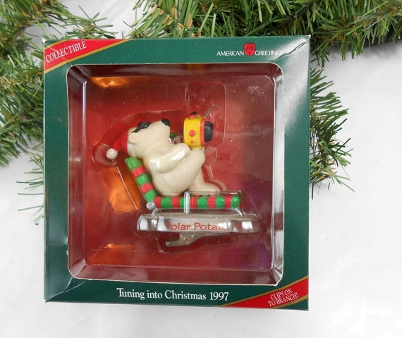 Vintage American Greetings Christmas Ornament POLAR POTATO | Etsy
