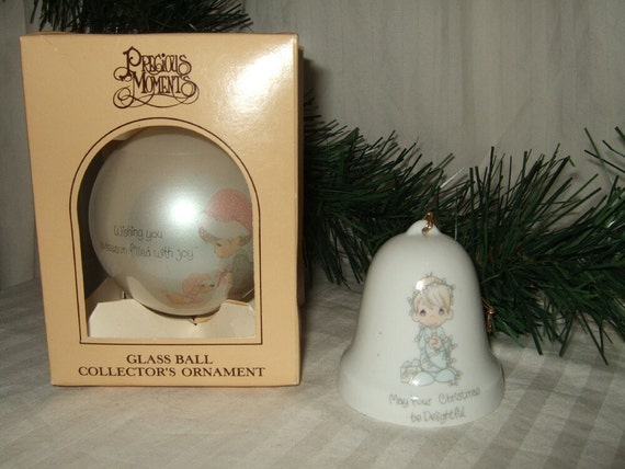image 0 - Precious Moments Christmas Ornaments