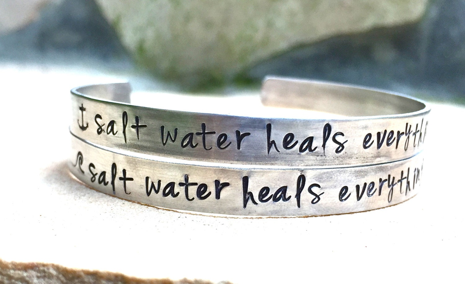 Salt Water Heals Everything Bracelet Mother\'s Day Gifts | Etsy