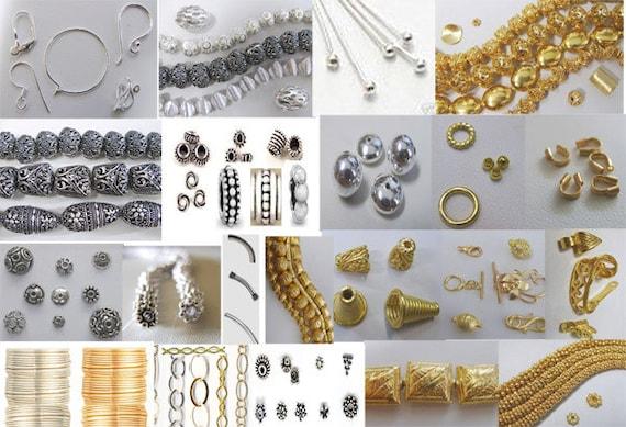 3Head Pin 70 pieces-999 Pure Silver over Copper Core