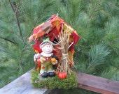 Autumn Scarecrow House