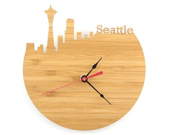 Seattle Modern Wall Clock