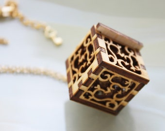 """Lock and Key Necklace - """"Key to My Heart"""", Victorian Style Lace"""