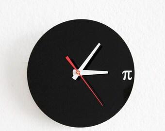 Pi Wall Clock - Geek, Nerd, Math Chic