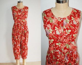 7c98161a5a81 Vintage Laura Ashley Jumpsuit with Pockets