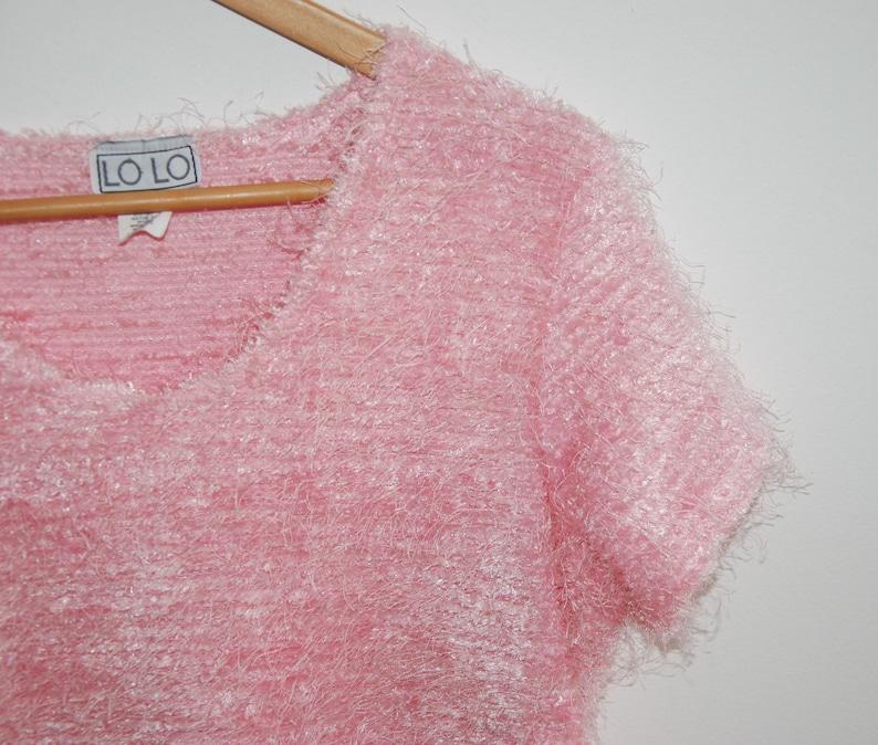 S A L E/_ LAST CHANCE Size Large Vintage Puink Blouse