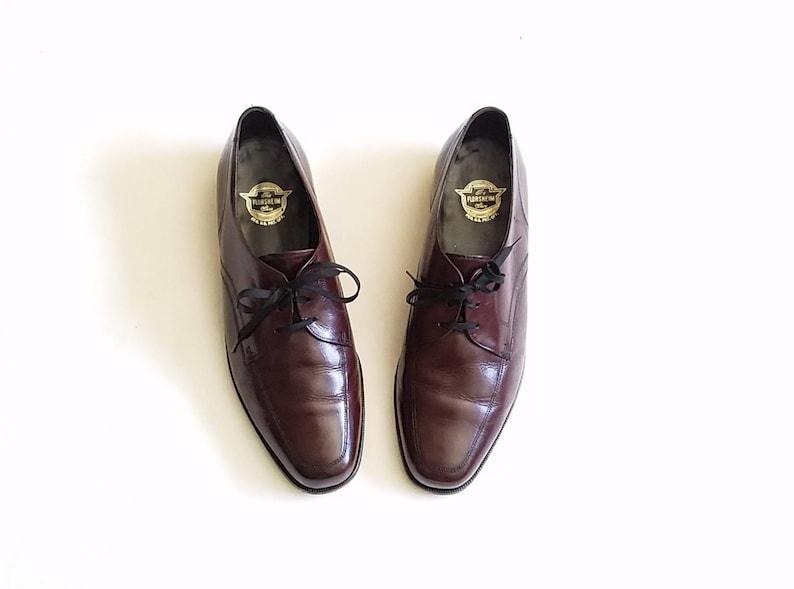 b075c0d13efc Vintage Mens 7.5 Florsheim Tie Dress Shoes Brogues Oxfords