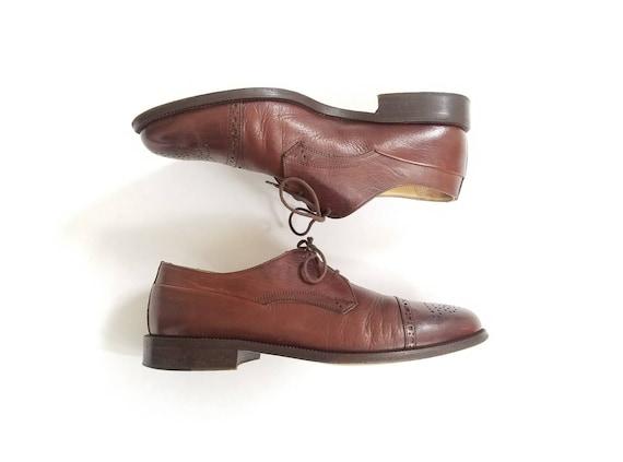 Johnston m Mens Brogue Oxford 7w Murphy mocassins Vintage chaussures mode aile robe en et italien cuir Cellini wwACEaqS